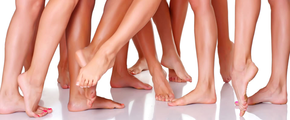 Smooth legs after laser treatment at Pura Vida